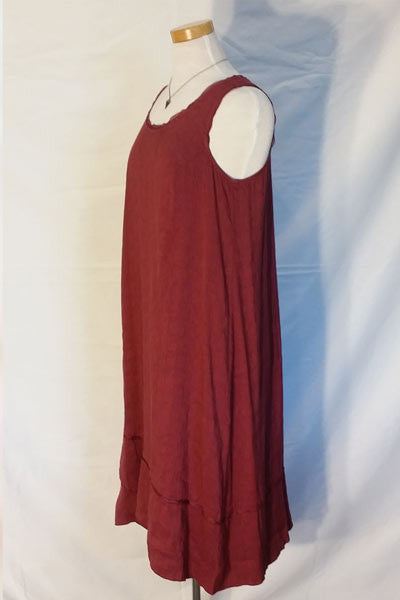 Silk and Linen Blend Summer Dress