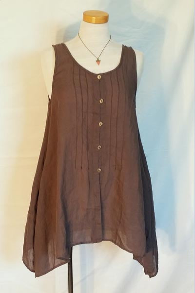 Sleeveless Top Vest