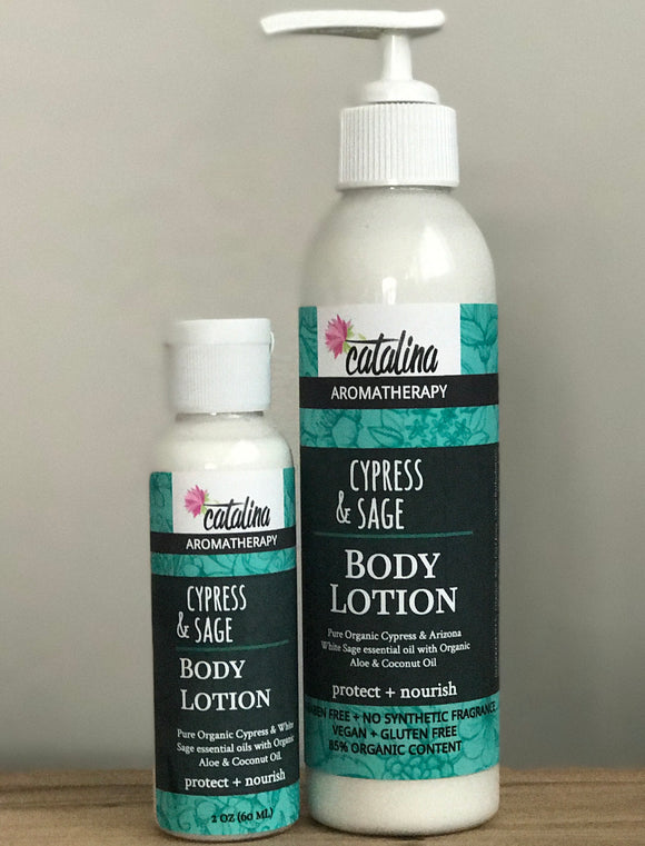 Aromatherapy Body Lotions