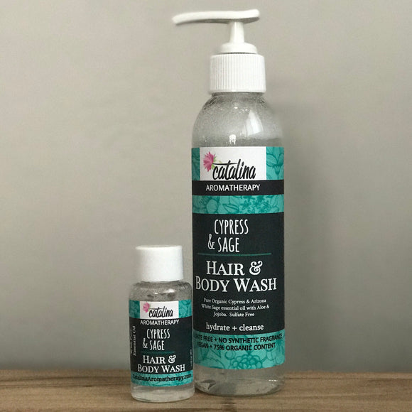 CYPRESS & SAGE Hair & Body Wash