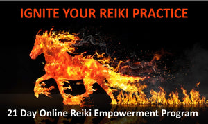 IGNITE Your Reiki Practice: 21 Day Online Reiki Empowerment Program