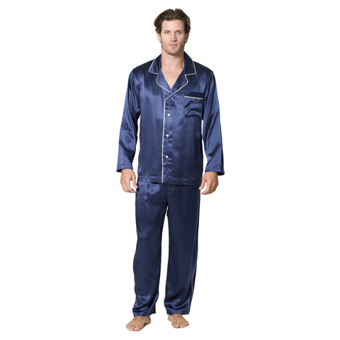 Luxury Deco Silk Pajamas - Intimo