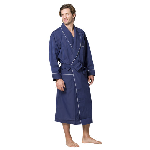 Men's Cotton Woven Robe - Intimo