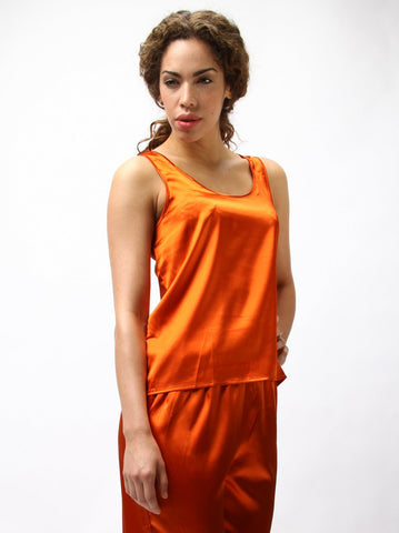 Stretch Saton Tank Top