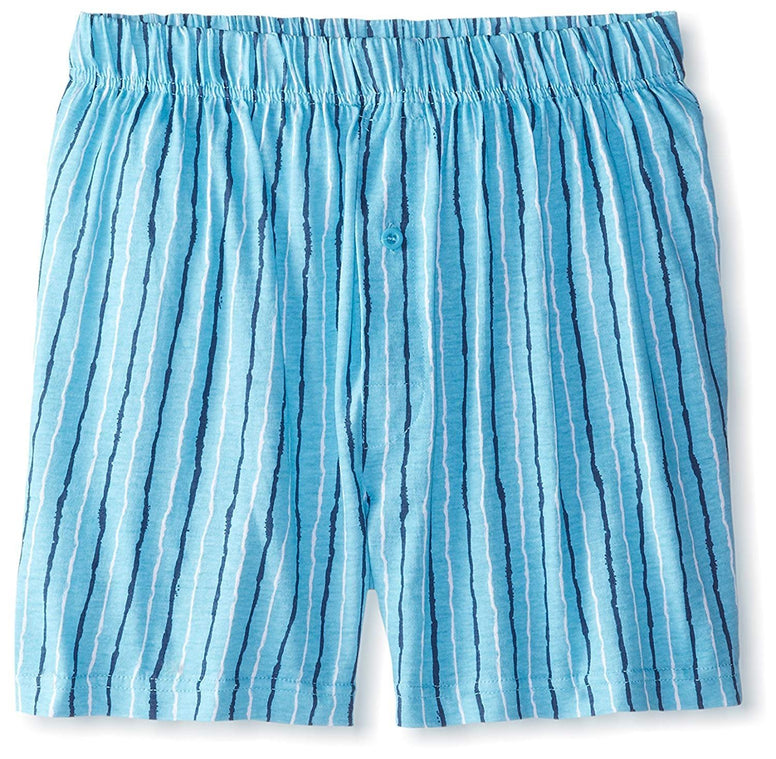 Intimo Men's Stripe Knit Boxer