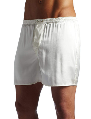 Intimo Men's Classic Stretch Silk Boxers