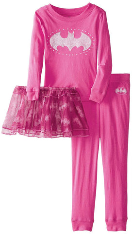 DC Comics Little Girls'  Batgirl Tutu Pajama Set
