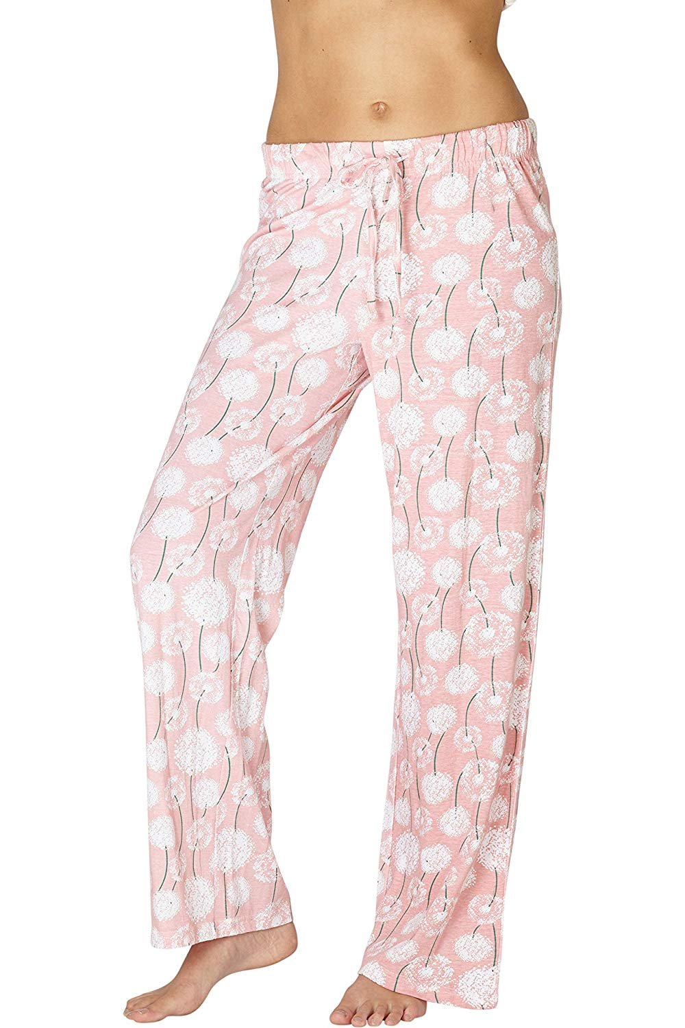 d26750b652d Intimo Women's Comfy Printed Flowers Cotton Sleep Pant, Multicolored, –  Intimo Inc