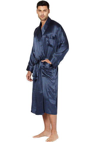 Intimo Men's Belgravia Silk Robe