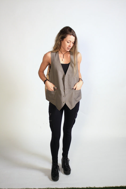True Uni-Sexy Reversible Vest