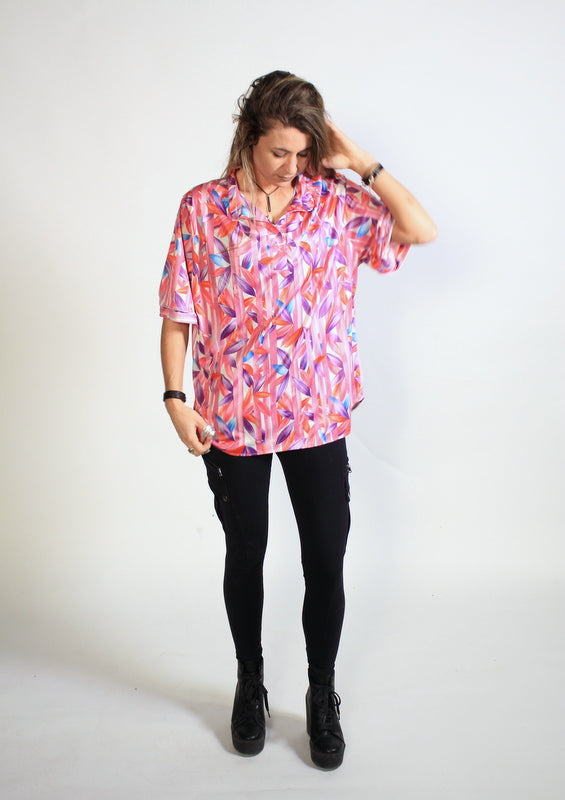 Women's Hawaiian Shirt by Aimee of California