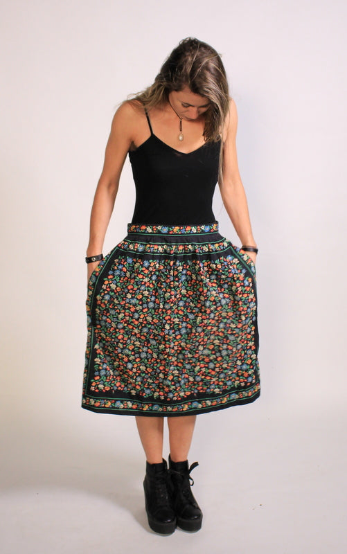Prairie Skirt 60s/70s Small/Medium