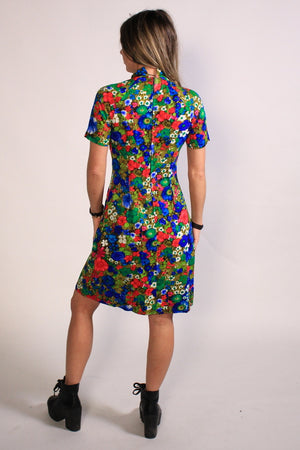 Handmade Vintage Mini GoGo dress XS