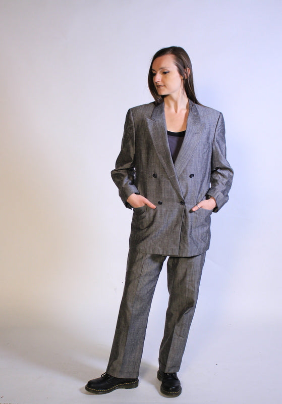 Bilari for Anton's Men's Suit- Hand Tailored