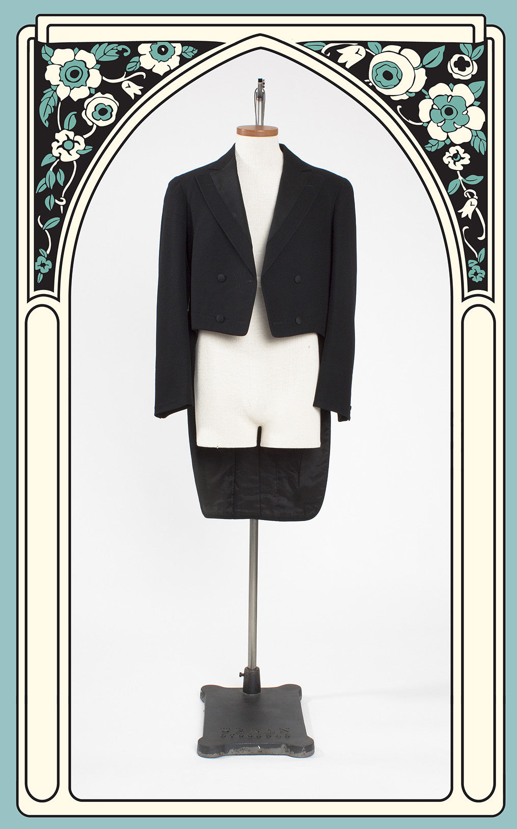 Dated 1909 James E. Irvine Wool Tail Coat