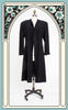 1940s A.L. Lavenstein Wool Evening Coat with Soutache Design