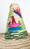 Fun 1950s Mexican Souvenir Straw Beach Hat