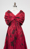 1958 Arnold Scaasi Couture Silk Taffeta Butterfly Ball Gown