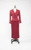 1950s Cohen & Goshin Wool Blend Peplum Suit with Pleated Skirt