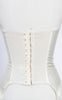 1950s Lady Marlene Ivory Merry Widow Satin Bustier