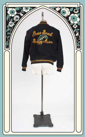1960s Massachusetts Beach Buggy Association Letterman Jacket