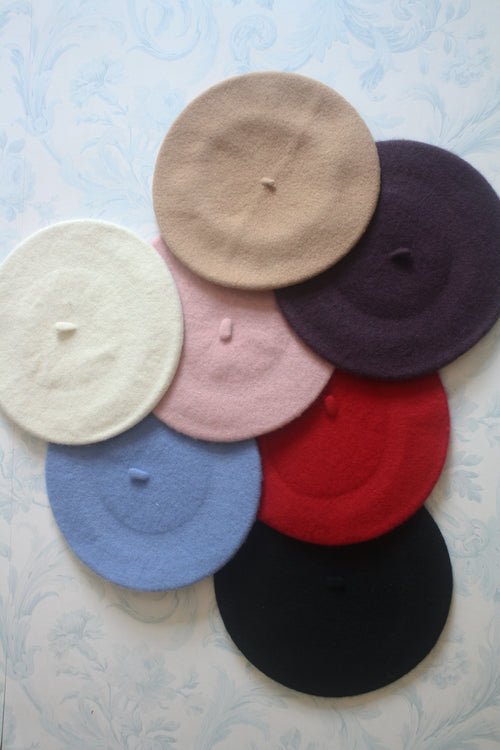 Chic Wool Berets (7 Colors Available)