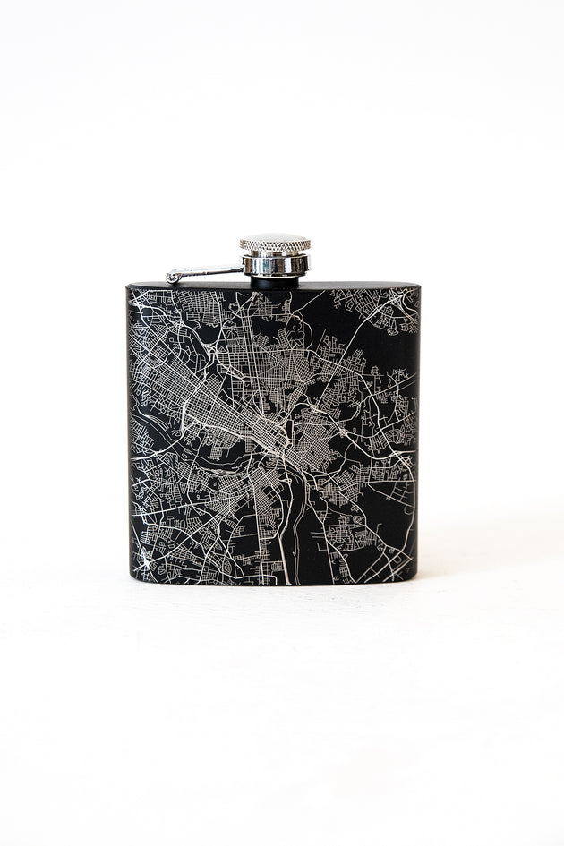 Engraved Richmond Map Flasks (2 Styles)