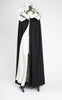 1960s does 1920s John Hagarty Irish Handwoven Wool Opera Cloak