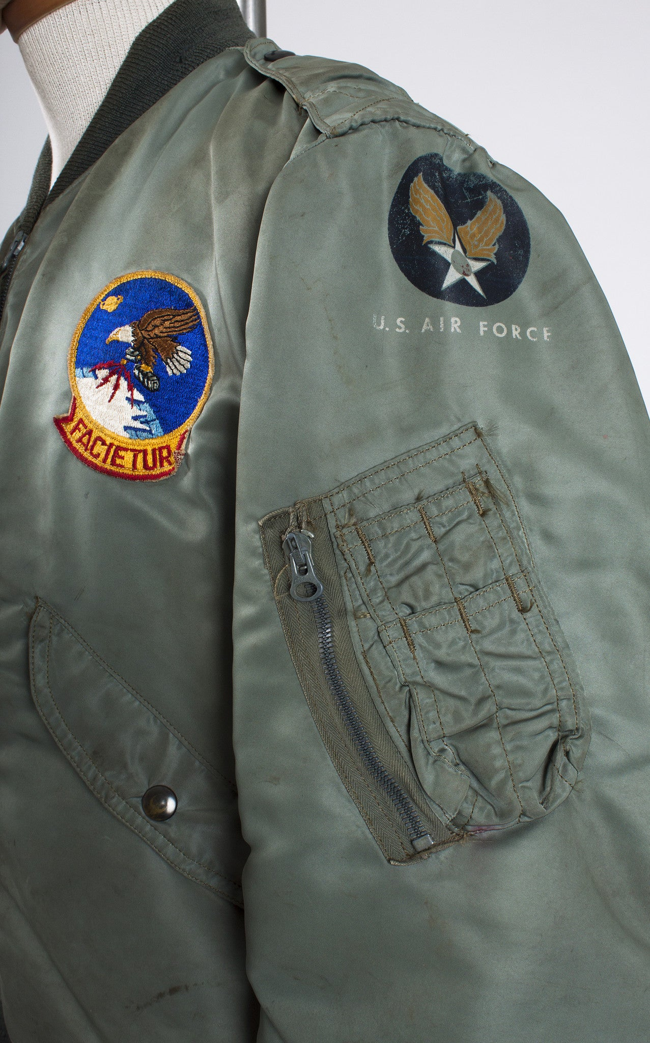 Early 1950s Dobb Industries MA-1 US Air Force Flight Jacket – Bygones