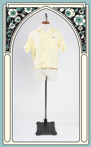 SOLD -- 1950s King Louie American Legion Post 284 Bowling Shirt