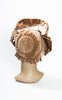 SOLD -- 1880s Victorian French Velvet & Lace Ladies Bonnet