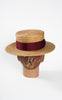 SOLD -- 1938 Dobbs Tuscan-Aire Straw Boater with Original Box