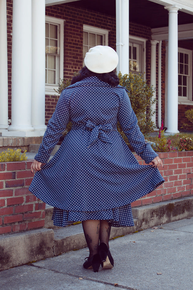 Effie's Heart Polkadot Lafitte Coat