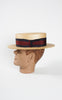 SOLD -- 1940s Moveo et Proficio Boater Hat