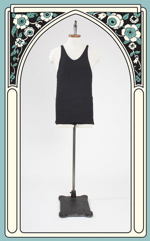 1930s Jantzen Men's Wool Swimsuit