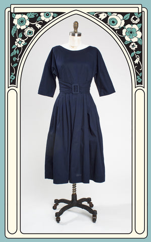 Lazybones Olivia Dress in Ink