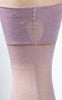 SOLD -- 1920s Lilac Silk Fishnet Stockings