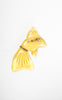 1940s Yellow Lucite Goldfish Novelty Brooch