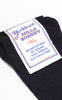 SOLD -- Deadstock 1940s Yorktown Mills Hosiery Navy & Red Striped Men's Socks