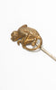 1910s Plainville Stock Co. Gold Filled Monkey Stick Pin