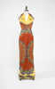 Late 1970s Paganne by Gene Berk Two Piece Maxi Dress