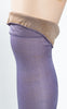 SOLD -- 1920s J & J Slater Lavender Silk Stockings
