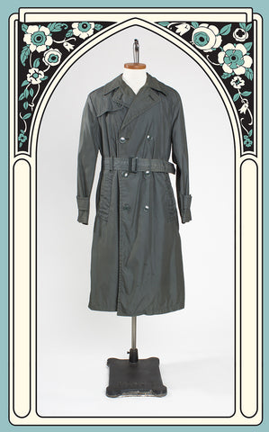Vietnam-Era U.S. Army Quarpel Raincoat