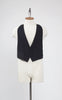 Rare 1930s Connock & Lockie Men's Bespoke Formal Waistcoat with Braces