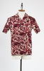 RJC 1950s Style Men's Red Hawaiian Shirt