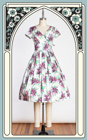 Retrospec'd Cindy Dress in Iris Pink