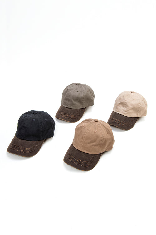 Weathered Cotton Baseball Hat (4 Colors)
