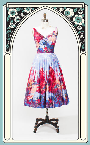 Retrospec'd Elizabeth Dress in Gay Pari
