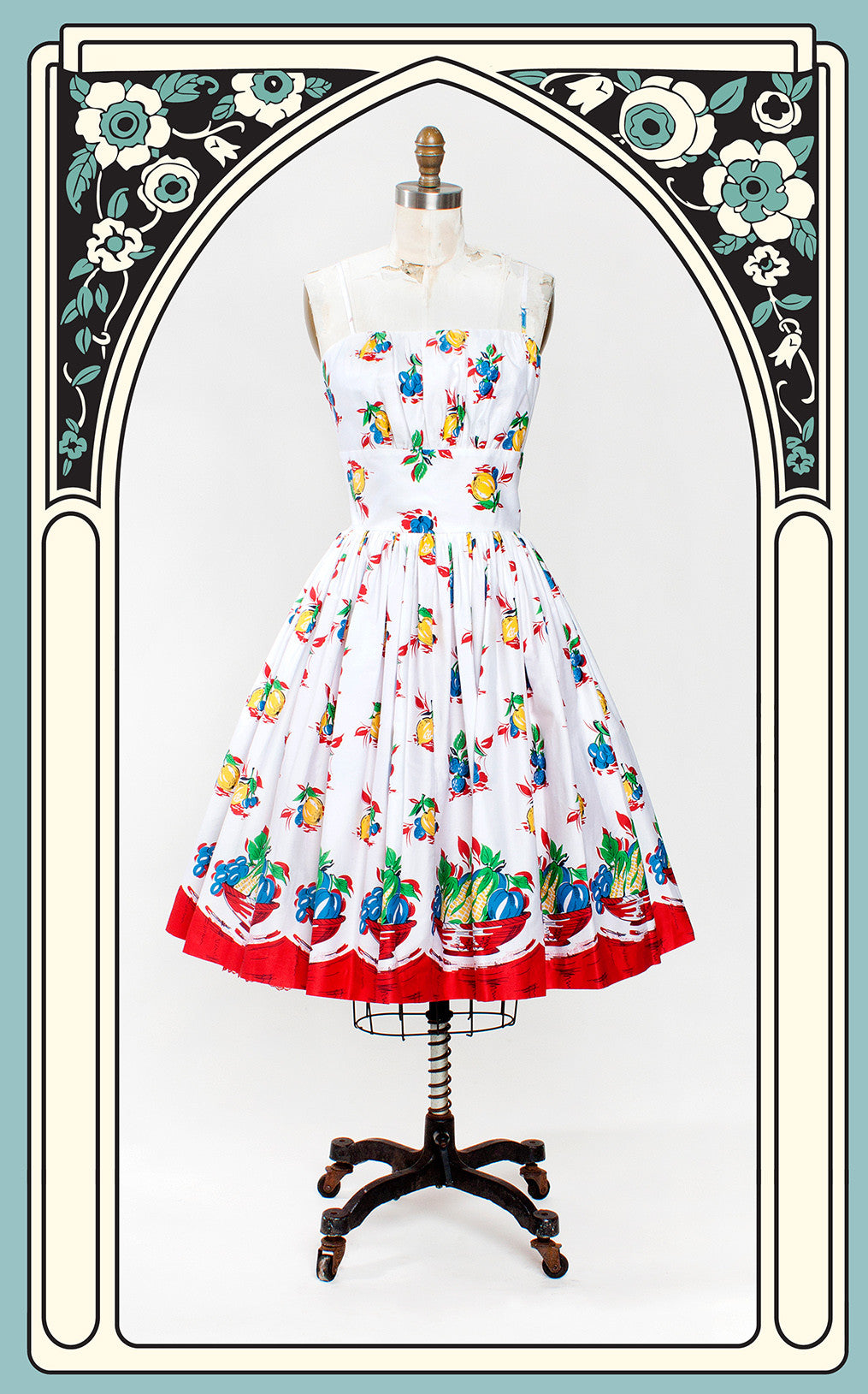 Retrospec'd Fruit Basket Sundress