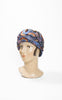 SOLD -- 1920s Mme. C. Kopp Silk Draped Cloche with French Ribbon Work